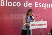 Helena Oliveira, cabeça de lista do Bloco à Câmara de Almada