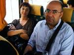 Catarina Gomes e Paulo Corceiro, cabeças de lista do Bloco para as Câmaras de Aveiro e Ílhavo, respectivamente