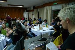 Jantar-debate em Carregal do Sal. Foto de Paulete Matos