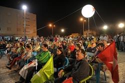 Boa participação no comício em Vieira de Leiria. Foto de Paulete Matos