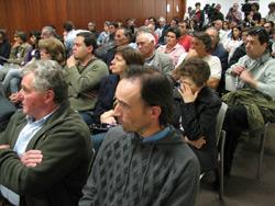 Participantes no Encontro do Bloco de Esquerda sobre interioridade - Foto de Paulete Matos