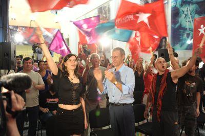 Noite eleitoral do Bloco