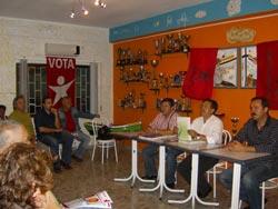 Os candidatos autárquicos do Bloco para as autarquias da Moita apresentaram a Carta Verde