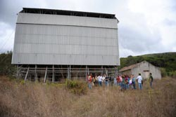 Francisco Louçã e Heitor de Sousa visitaram a Capela Visigótica de São Gião (Nazaré)