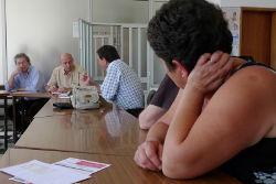 Reunião em Seia. Foto Paulete Matos