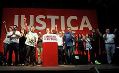 Comício do Bloco em Braga - Foto de Paulete Matos