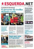 Jornal do Bloco distribuído em todo o país