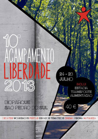 Cartaz do Acampamento