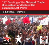 Enconto de sindicalistas europeus em Lisboa