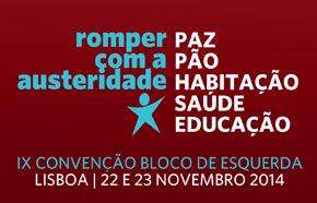 IX Convenção do Bloco 21 e 22 de Novembro de 2014