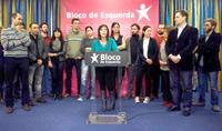 A nova Comisão Política do Bloco de Esquerda. Foto Lusa