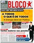 Jornal do Bloco defende que a energia deve ser pública