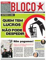Leia aqui o jornal do Bloco com propostas para responder à crise