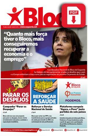 Jornal do bloco, edição de verão 2018